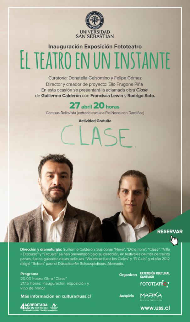 OBRA DE TEATRO CLASE