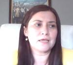 Tamara Vega, primera egresada del Magíster Derecho Penal Económico